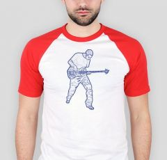 T-shirt Baseball Bass player B