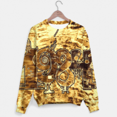 Gold 1984 Sweater