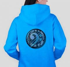 Bass clef  B1 Hoodie LADY-FIT