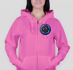 Bass clef  B2 Hoodie LADY-FIT